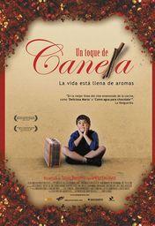 Cartel oficial en español de: Un toque de canela