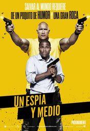 Cartel oficial en español de: Un espía y medio