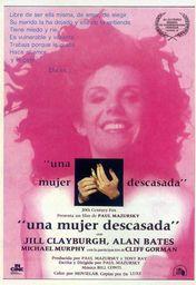 Cartel oficial en español de: Una mujer descasada