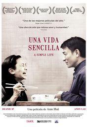 Cartel oficial en español de: Una vida sencilla (A Simple Life)