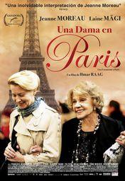 Cartel oficial en español de: Una dama en París