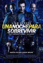 Cartel oficial en español de: Una noche para sobrevivir