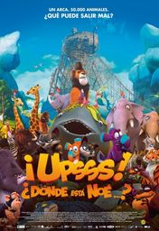 Cartel oficial en español de: ¡Upsss! ¿Dónde está Noé?