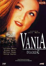 Cartel oficial en español de: Vania en la calle 42