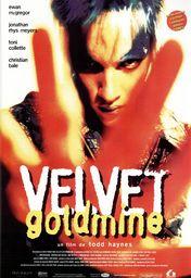 Cartel oficial en español de: Velvet Goldmine