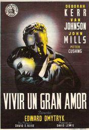 Cartel oficial en español de: Vivir un gran amor