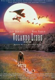 Cartel oficial en español de: Volando libre