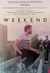 Cartel oficial en español de: Weekend