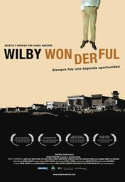 Cartel oficial en español de: Wilby wonderful