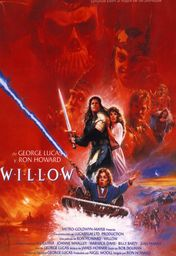 Cartel oficial en español de: Willow