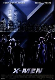 Cartel oficial en español de: X-Men