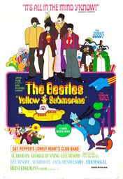 Cartel oficial en español de: Yellow Submarine