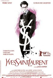 Cartel oficial en español de: Yves Saint Laurent