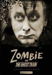 Cartel oficial en español de: Zombie y el Tren Fantasma