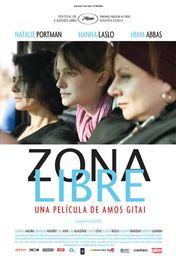 Cartel oficial en español de: Zona libre