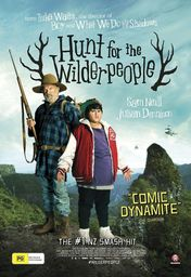 Cartel oficial en español de: Hunt for the Wilderpeople, a la caza de los ñumanos