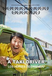 Cartel oficial en español de: A Taxi Driver: Los héroes de Gwangju