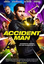 Cartel oficial en español de: Accident Man