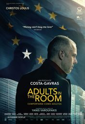 Cartel oficial en español de: Adults in the Room (Comportarse como adultos)