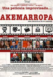 Cartel oficial en español de: Akemarropa