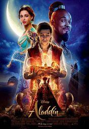 Cartel oficial en español de: Aladdin