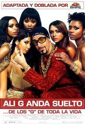 Cartel oficial en español de: Ali G anda suelto