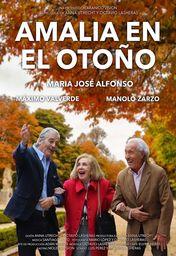 Cartel oficial en español de: Amalia en el otoño