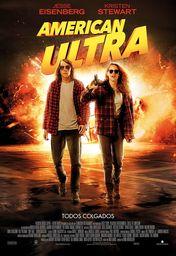 Cartel oficial en español de: American Ultra
