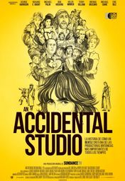 Cartel oficial en español de: An Accidental Studio