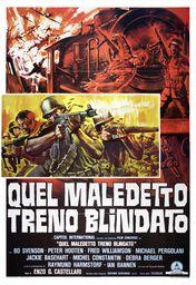 Cartel oficial en español de: Aquel maldito tren blindado