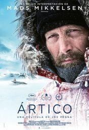 Cartel oficial en español de: Ártico (2019)