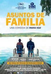 Cartel oficial en español de: Asuntos de familia