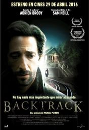 Cartel oficial en español de: Backtrack
