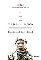Cartel oficial en español de: Beasts of No Nation