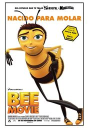 Cartel oficial en español de: Bee Movie