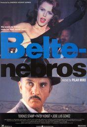 Cartel oficial en español de: Beltenebros