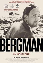 Cartel oficial en español de: Bergman, su gran año