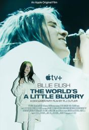 Cartel oficial en español de: Billie Eilish: The World's a Little Blurry