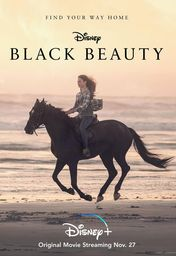 Cartel oficial en español de: Black Beauty