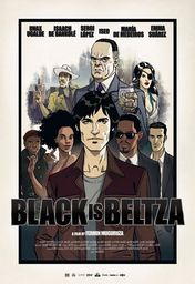 Cartel oficial en español de: Black is Beltza