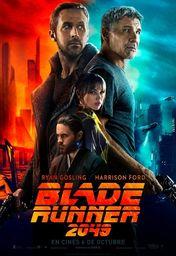 Cartel oficial en español de: Blade Runner 2049