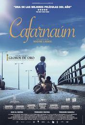 Cartel oficial en español de: Cafarnaúm