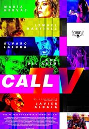 Cartel oficial en español de: Call TV