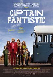 Cartel oficial en español de: Captain Fantastic