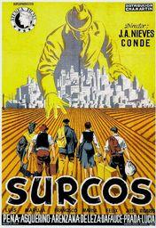Cartel oficial en español de: Surcos