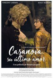 Cartel oficial en español de: Casanova, su último amor