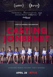 Cartel oficial en español de: Casting JonBenet