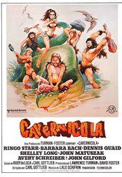 Cartel oficial en español de: Cavernícola (1981)