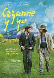 Cartel oficial en español de: Cézanne y yo