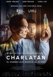 Cartel oficial en español de: Charlatán